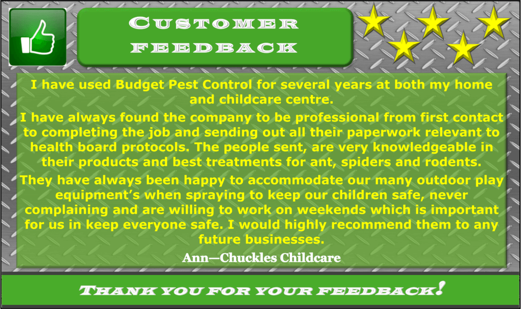 Chuckles Childcare Testimonial